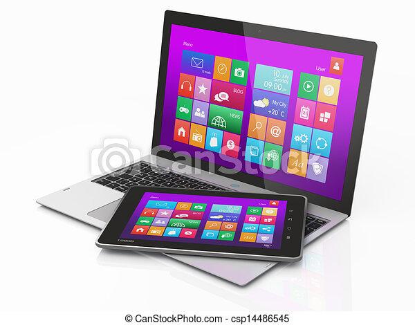 illustration informatique mobilit tablette pc intrface banque d 39 illustrations. Black Bedroom Furniture Sets. Home Design Ideas