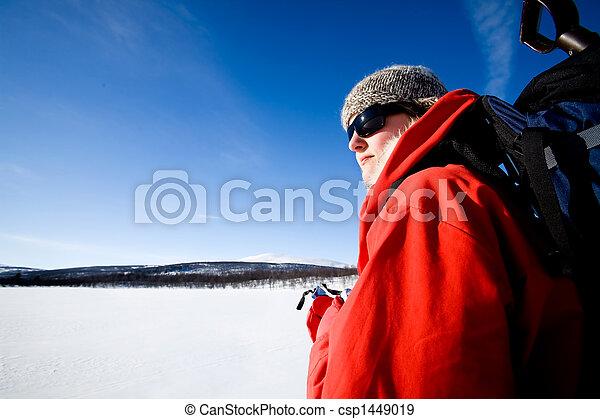 Winter Adventure Ski - csp1449019