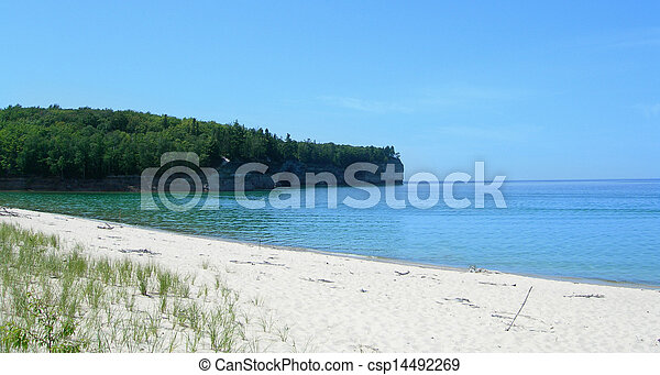 Scenic Michigan lakes - csp14492269