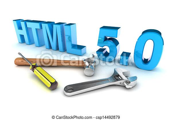 HTML 5 Tools - csp14492879