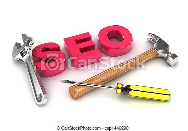 seo, attrezzi - csp14492901