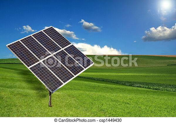 Solar Panel Sun Tracking System - csp1449430