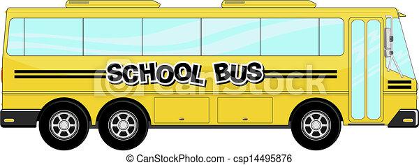 School Bus Drawings Vector School Bus Vector
