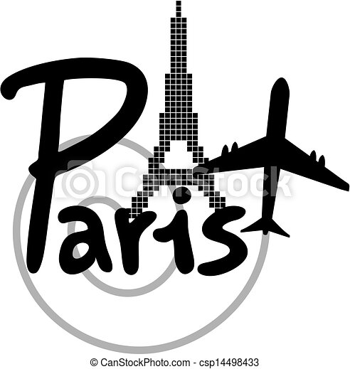 Vecteurs de paris voyage cr atif conception de for Salon art creatif paris