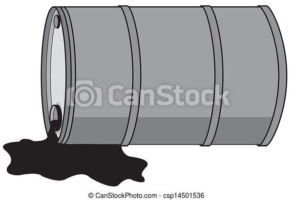 Oil Barrel Drawing Barrel With Oil Csp14501536
