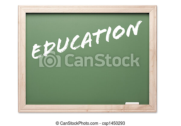 Quote Series Chalkboard - Education - csp1450293