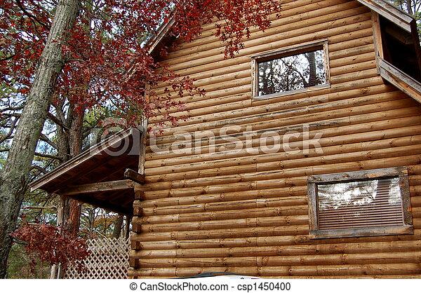 capanna di tronchi - csp1450400
