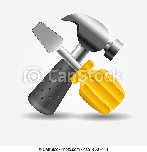 矢量锤子icon