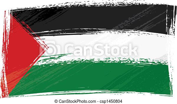 Grunge Palestine flag - csp1450804