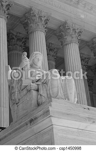 Pictures of The Supreme Court of the United States in Washington, DC,...