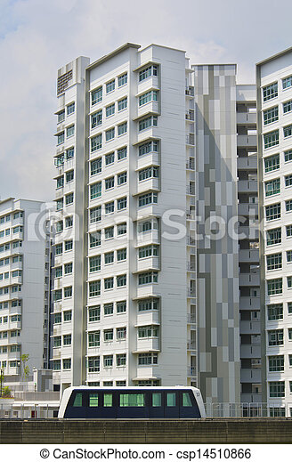 new Singapore Government apartments - csp14510866