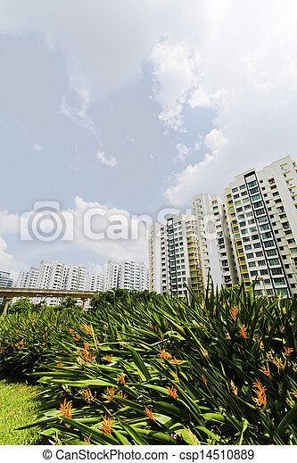 new Singapore Government apartments - csp14510889