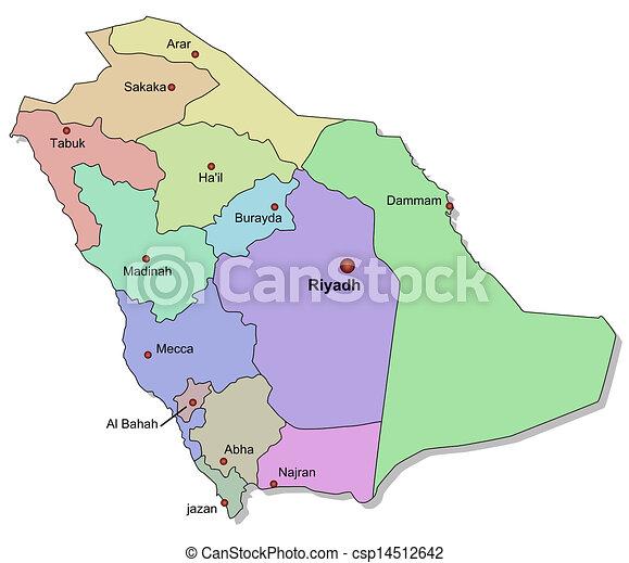 Saudi Arabia Map Pdf Map of Saudi Arabia