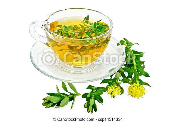 photos de rhodiola rosea tasse th verre herbier gu rison csp14514334 recherchez. Black Bedroom Furniture Sets. Home Design Ideas