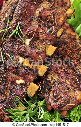 Spare rib dinner - csp1451517