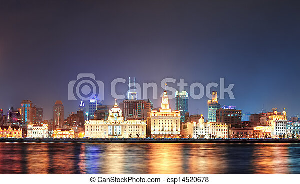Shanghai historic architecture - csp14520678