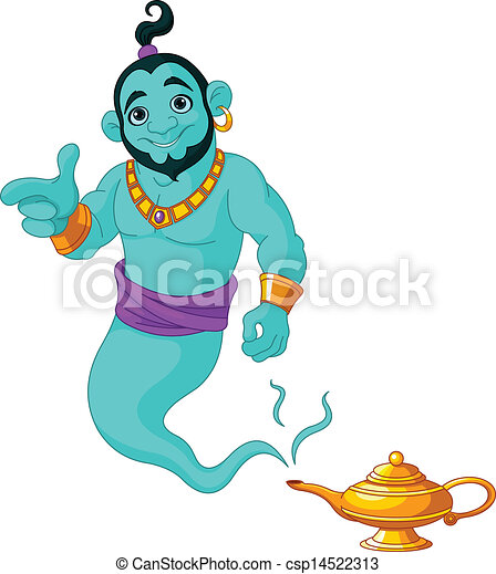 Real Genie Wishes Genie Granting The Wish