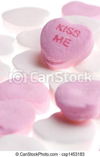 valentine\\\'s, jour, bonbon - csp1453183