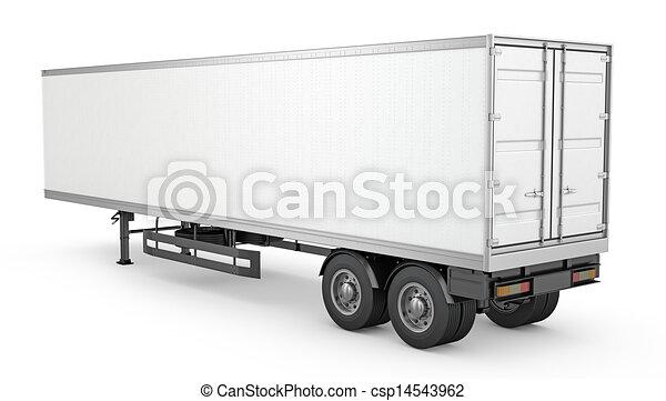 Semi trailer Clip Art and Stock Illustrations. 2,289 Semi trailer ...