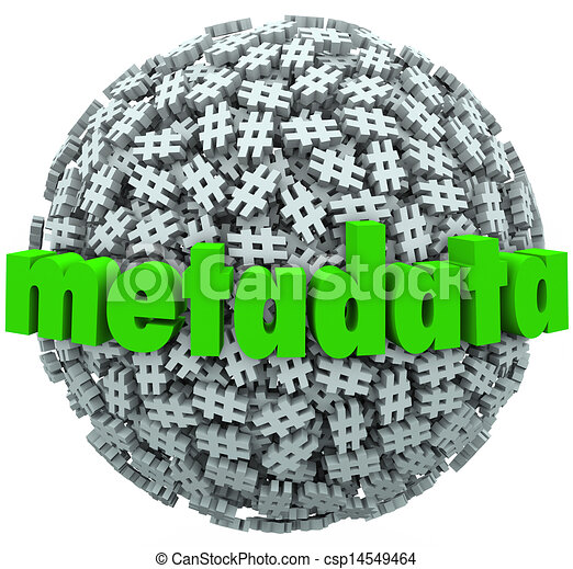 Meta Data Number Pound Hash Tag Sphere Metadata Hashtags - csp14549464