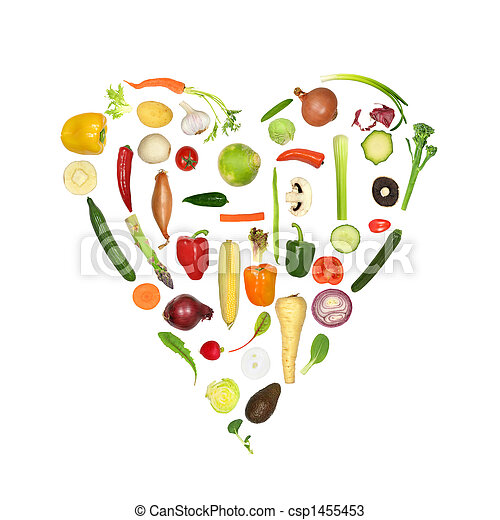 Healthy Vegetable Heart - csp1455453