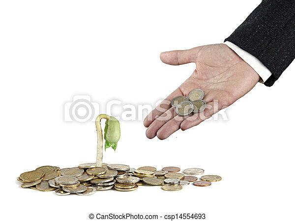 investieren, landwirtschaft - csp14554693
