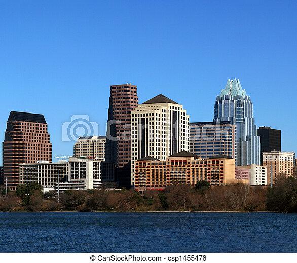 Downtown Austin Texas Cityscape - csp1455478