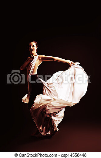 dancing art - csp14558448