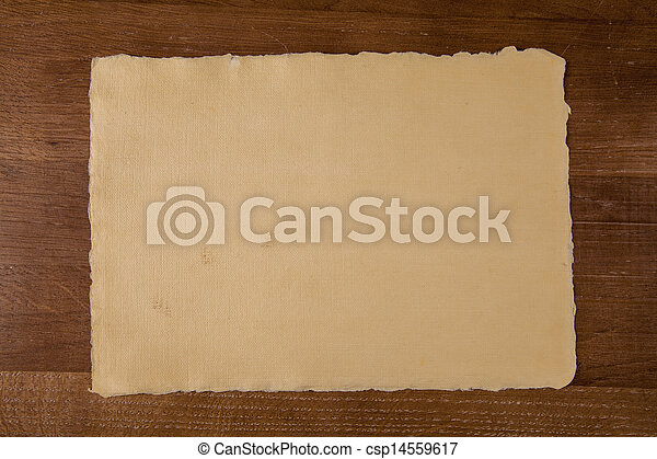 Wooden desk in a law firm  - csp14559617