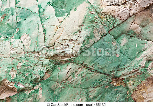 copper in stone background - csp1456132