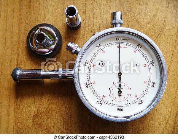 Measuring instrument tachometer