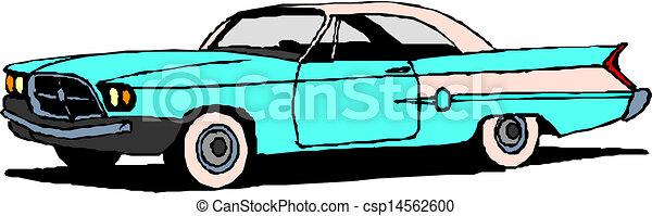 vintage retro automobile - csp14562600
