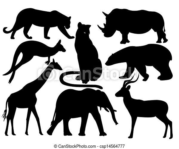 Wildlife animals Clipart Vector Graphics. 125,776 Wildlife animals ...