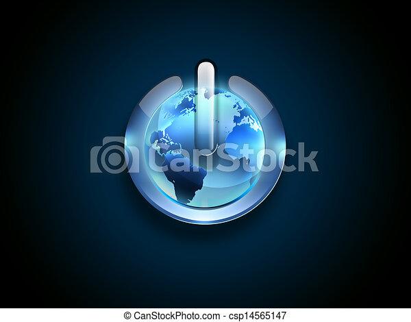 Wereld, macht - csp14565147