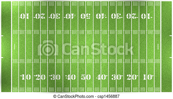 football field - csp1456887