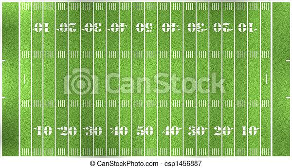 football field - csp1456887