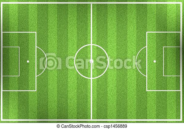 soccer field - csp1456889