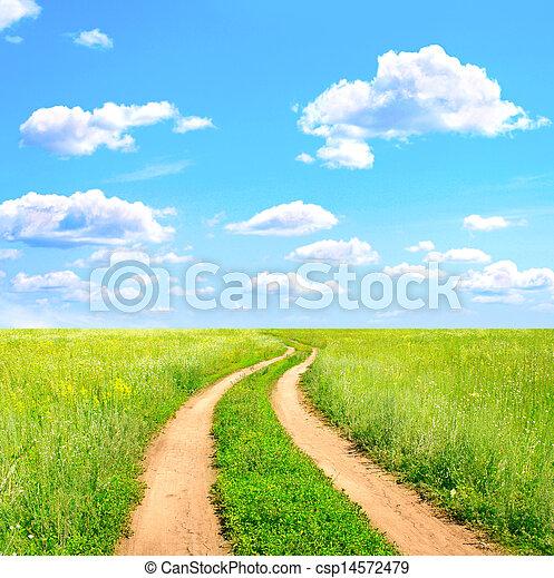 Rural landscape - csp14572479