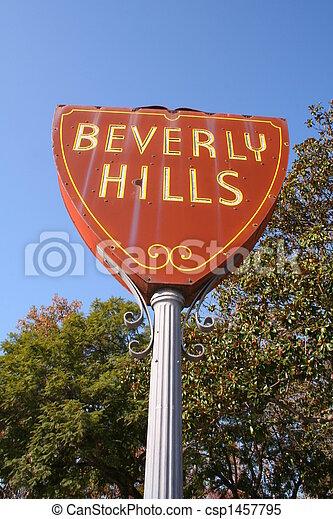 Beverly Hills - csp1457795