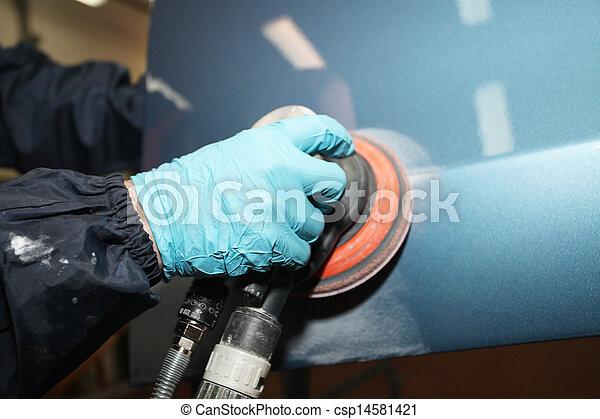 polishing - csp14581421