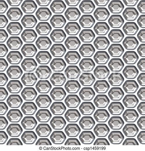Honeycomb Grill - csp1459199