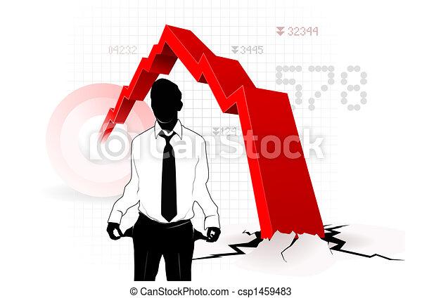 Economic crisis - csp1459483