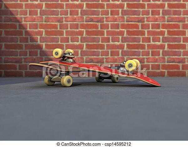 Street skateboard
