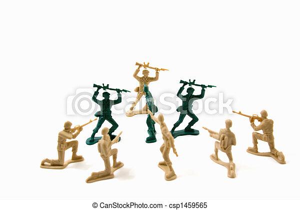 Stubborn Concept - Plastic ArmyMmen - csp1459565