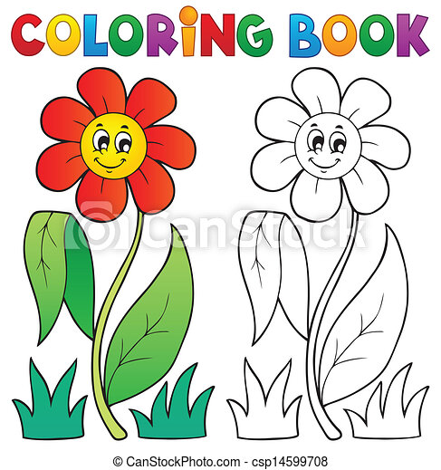 Galerry flower art coloring book