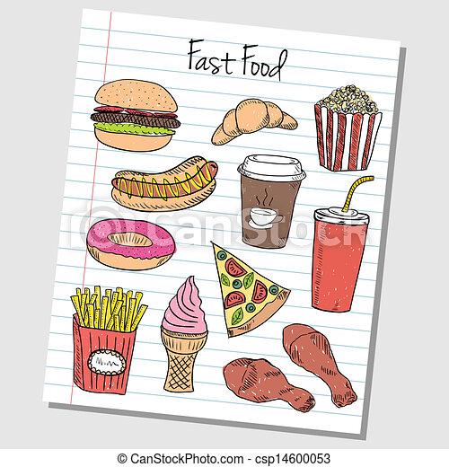 fast food paper bag