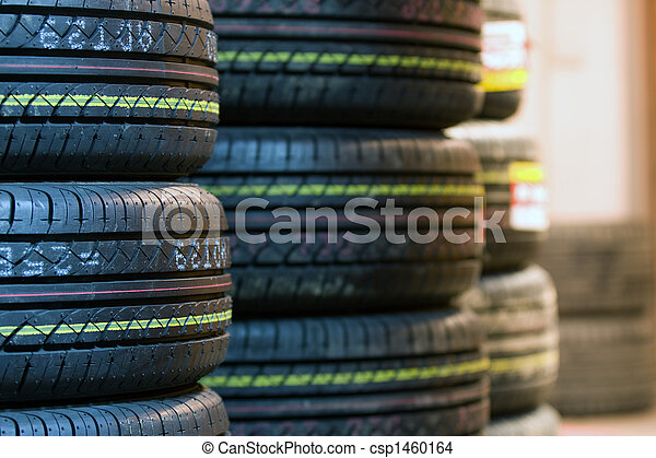 Tire tread close up - csp1460164