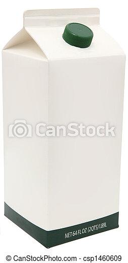 Carton of Milk, Juice or Soy. - csp1460609