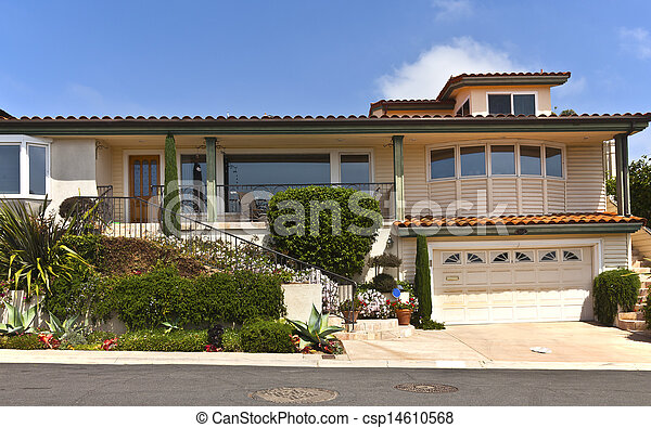 Point Loma Residential home California. - csp14610568