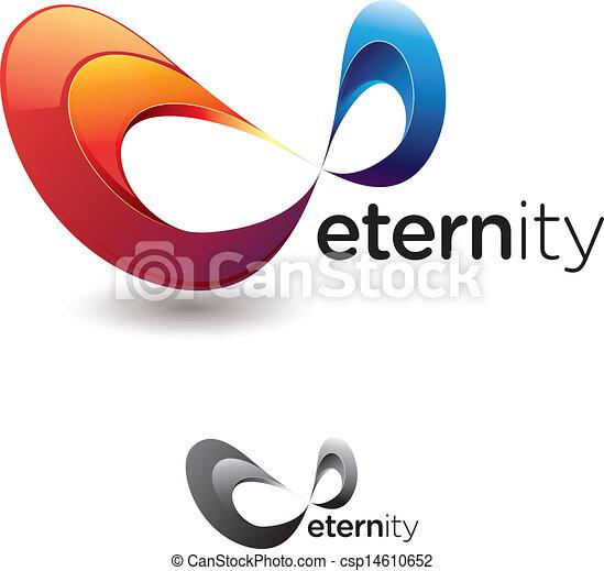 Vecteur clipart de ternit symbole stylis ternit ou infinit csp14610652 - Symbole de l eternite ...